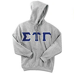 Sigma Tau Gamma Standards Hooded Sweatshirt - $25.99 Gildan 18500 - TWILL