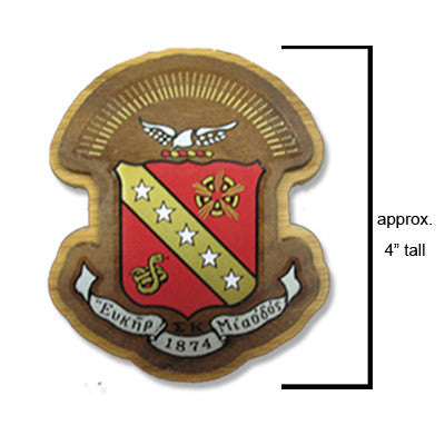 Sigma Kappa Large Wooden Crest - 503