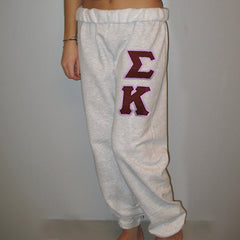 Sigma Kappa Sorority Sweatpants - Jerzees 973 - TWILL