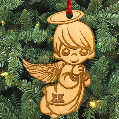 Sigma Kappa Angel Ornament - LZR