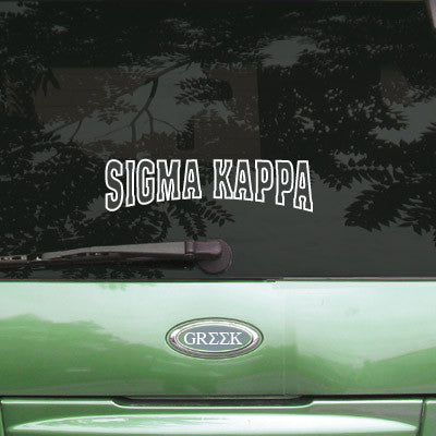 Sigma Kappa Stadium Sticker - Angelius Pacific apsc - CAD