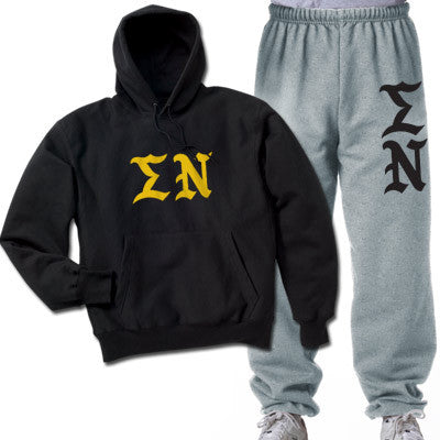 Sigma Nu Printed Old English Package - CAD