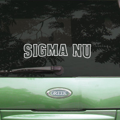 Sigma Nu Stadium Sticker - Angelius Pacific apsc