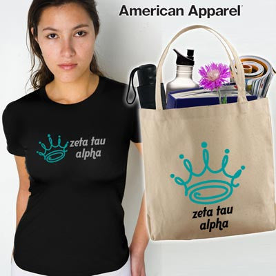 Sorority Mascot Printed Tee and Tote Package - CAD