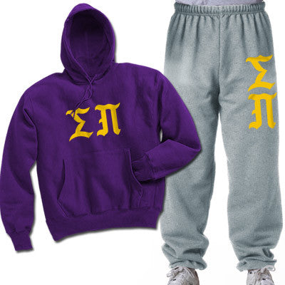 Sigma Pi Printed Old English Package - CAD