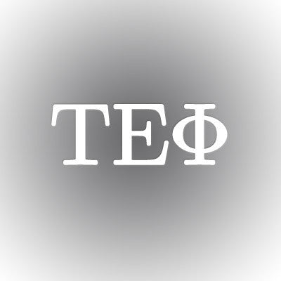 Tau Epsilon Phi Car Window Sticker - compucal - CAD