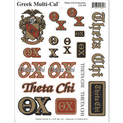 Theta Chi Multi-Cal Stickers