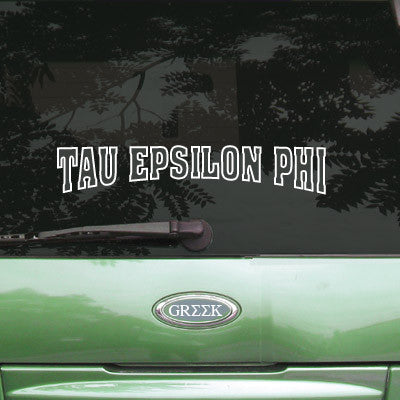 Tau Epsilon Phi Stadium Sticker - Angelius Pacific apsc