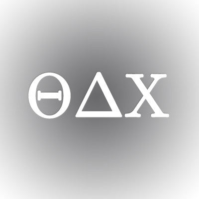 Theta Delta Chi Car Window Sticker - compucal - CAD