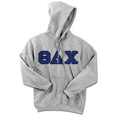 Theta Delta Chi Standards Hooded Sweatshirt - $25.99 Gildan 18500 - TWILL