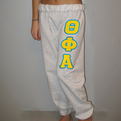 Theta Phi Alpha Sorority Sweatpants - Jerzees 973 - TWILL