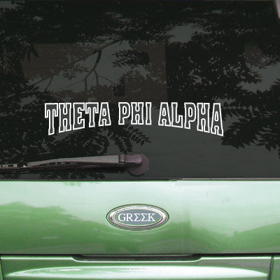 Theta Phi Alpha Stadium Sticker - Angelius Pacific apsc - CAD