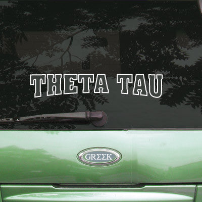 Theta Tau Stadium Sticker - Angelius Pacific apsc