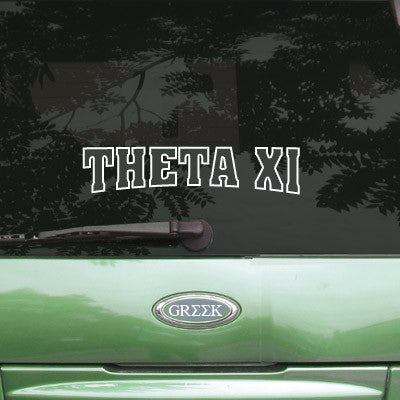 Theta Xi Stadium Sticker - Angelius Pacific apsc