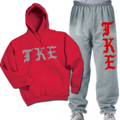 Tau Kappa Epsilon Printed Old English Package - CAD