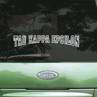 Tau Kappa Epsilon Stadium Sticker - Angelius Pacific apsc
