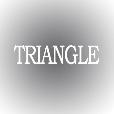 Triangle Car Window Sticker - compucal - CAD