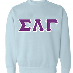 Sorority Crewneck Sweatshirt - Comfort Colors 1566 - TWILL