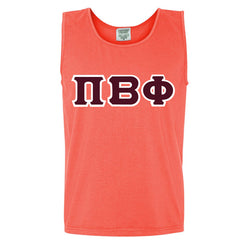 Sorority Tank Top - Comfort Colors C9360 - TWILL