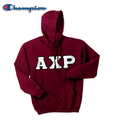 Alpha Chi Rho Champion Hooded Sweatshirt - Champion S700 - TWILL