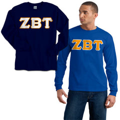 Zeta Beta Tau 2 Longsleeve Tees Package - Gildan 2400 - TWILL