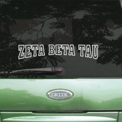 Zeta Beta Tau Stadium Sticker - Angelius Pacific apsc - CAD