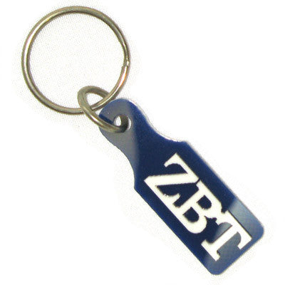 Zeta Beta Tau Paddle Keychain - Craftique cqSPK