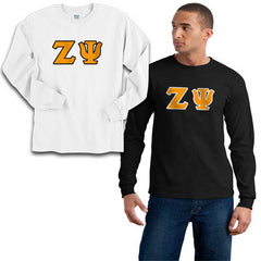 Zeta Psi 2 Longsleeve Tees Package - Gildan 2400 - TWILL