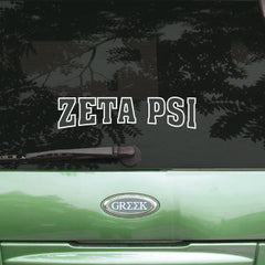 Zeta Psi Stadium Sticker - Angelius Pacific apsc - CAD