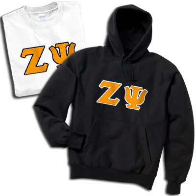 Zeta Psi Hoody/T-Shirt Pack - TWILL