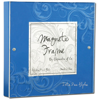 Zeta Tau Alpha Magnetic Picture Frame - Alexandra Co. a1016