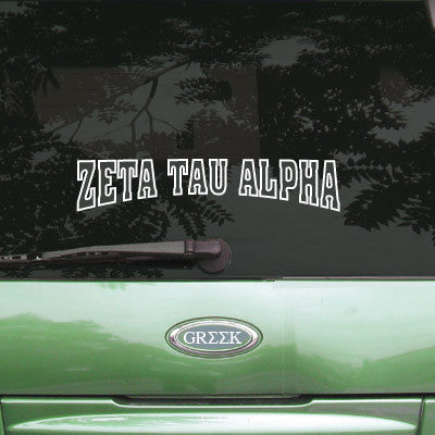 Zeta Tau Alpha Stadium Sticker - Angelius Pacific apsc - CAD