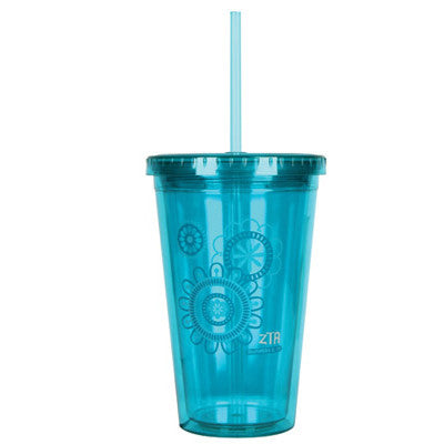 Zeta Tau Alpha On-The-Go Tumbler - SALE - Alexandra Co. a1052