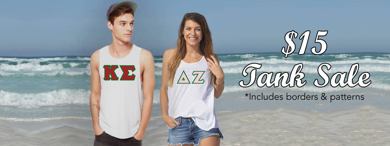 Something Greek gear. One Greek Store for your Greek University Needs.
