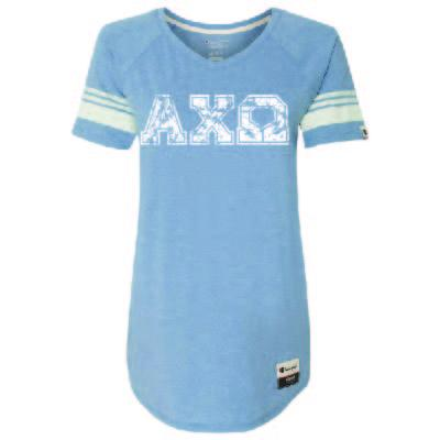 Shop Sorority and Fraternity Clothing. Distressed Varsity Shirt