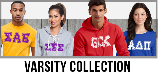 Greek Varsity Apparel