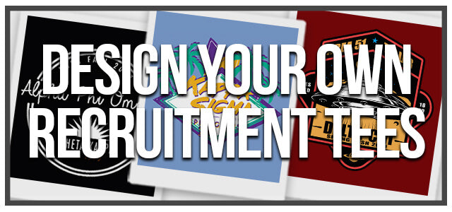 Design Your Own Recruitment Tees