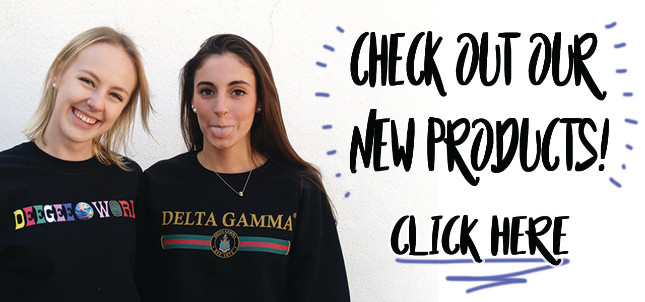 28041a9c4 Greek Clothing   Apparel - Sorority and Fraternity Gear   Merchandise