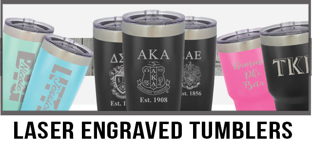 Custom Greek Tumblers