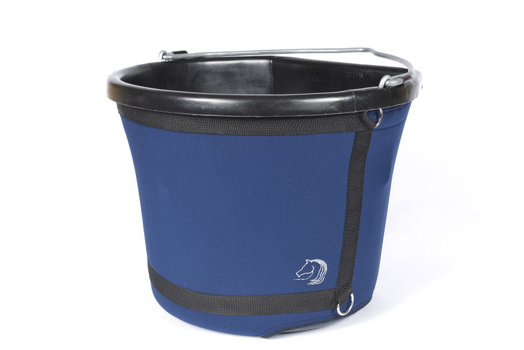 Bucket Holder 20L Equestrian Buck-It! Cover made by The Head 2 Hoof Shop.