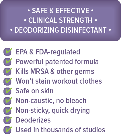 Yoga Disinfectant Spray Facts