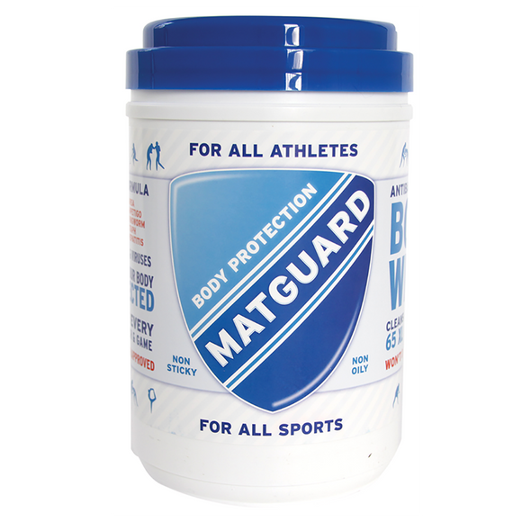 MATGUARD® XL Athletic Body Wipe (Patented 70% Alcohol Formulation)