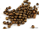 2mm Round Antique Bronze Beads