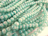 4mm Teal AB Glass Beads