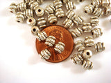 5mm Antique Silver Spacer Beads