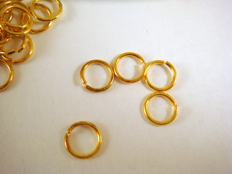 5mm Gold Plated Jumprings