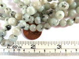 6mm Semi-Precious Sesame Jasper Gemstone Beads