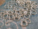 6mm Silver Plated Jumprings