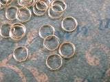 6mm Silver Plated Unsoldered Jumprings