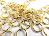 8mm Gold Jumprings